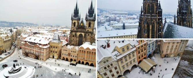 пътешествие от Виена до Прага