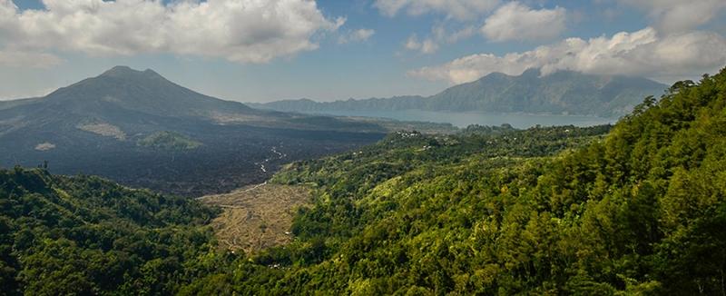 вулкан на о-в Бали
