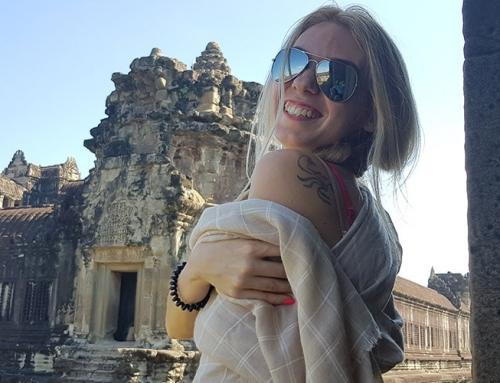 Приключение в Камбоджа с Джорджа
