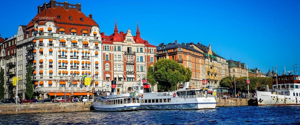 Полети до Швеция