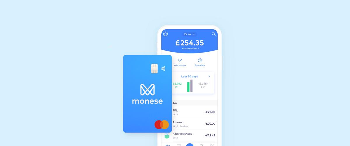 приложение за телефон на monese