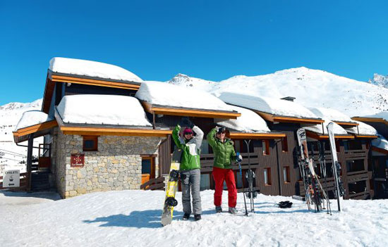 ски екскурзии в Алпите с мармото