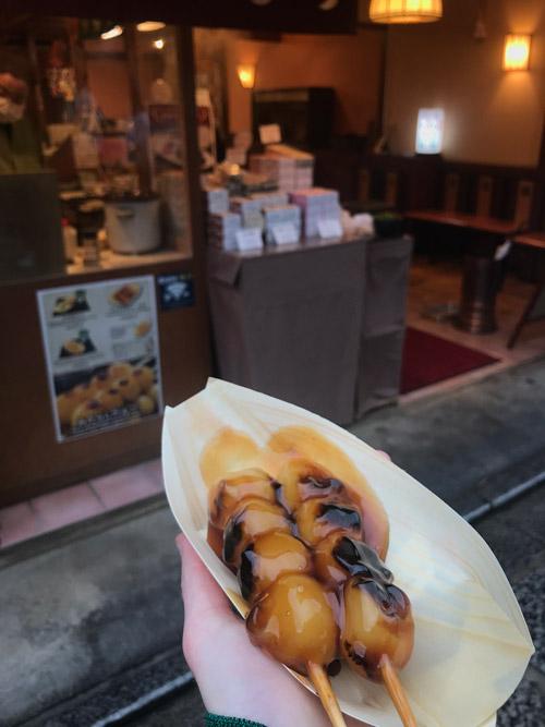 данго десерт япония