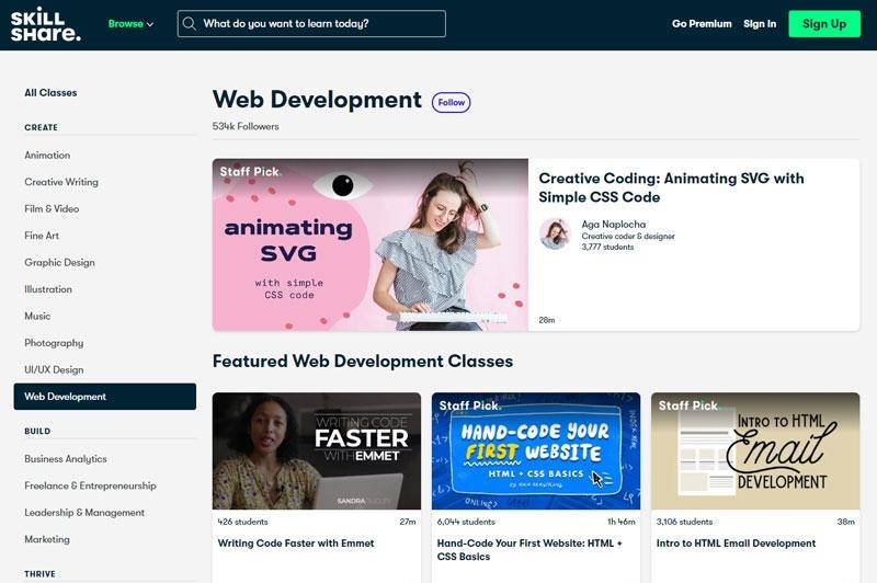 skillshare онлайн курсове