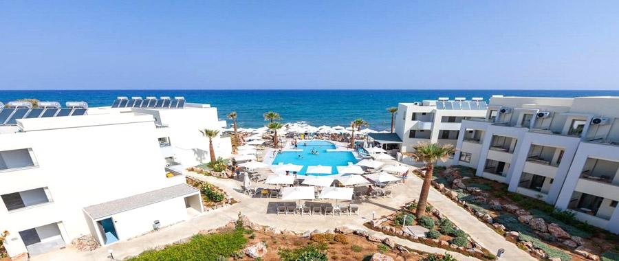хотел-крит чартърен полет почивка